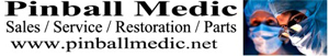 Pinball Medic coin-op game sales, restoration, refurbishment, repair located in Austin, Texas