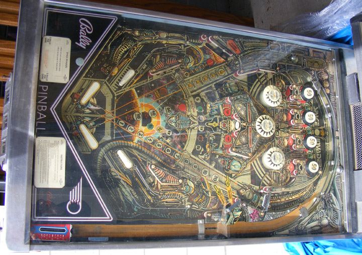 space invaders pinball machine for sale