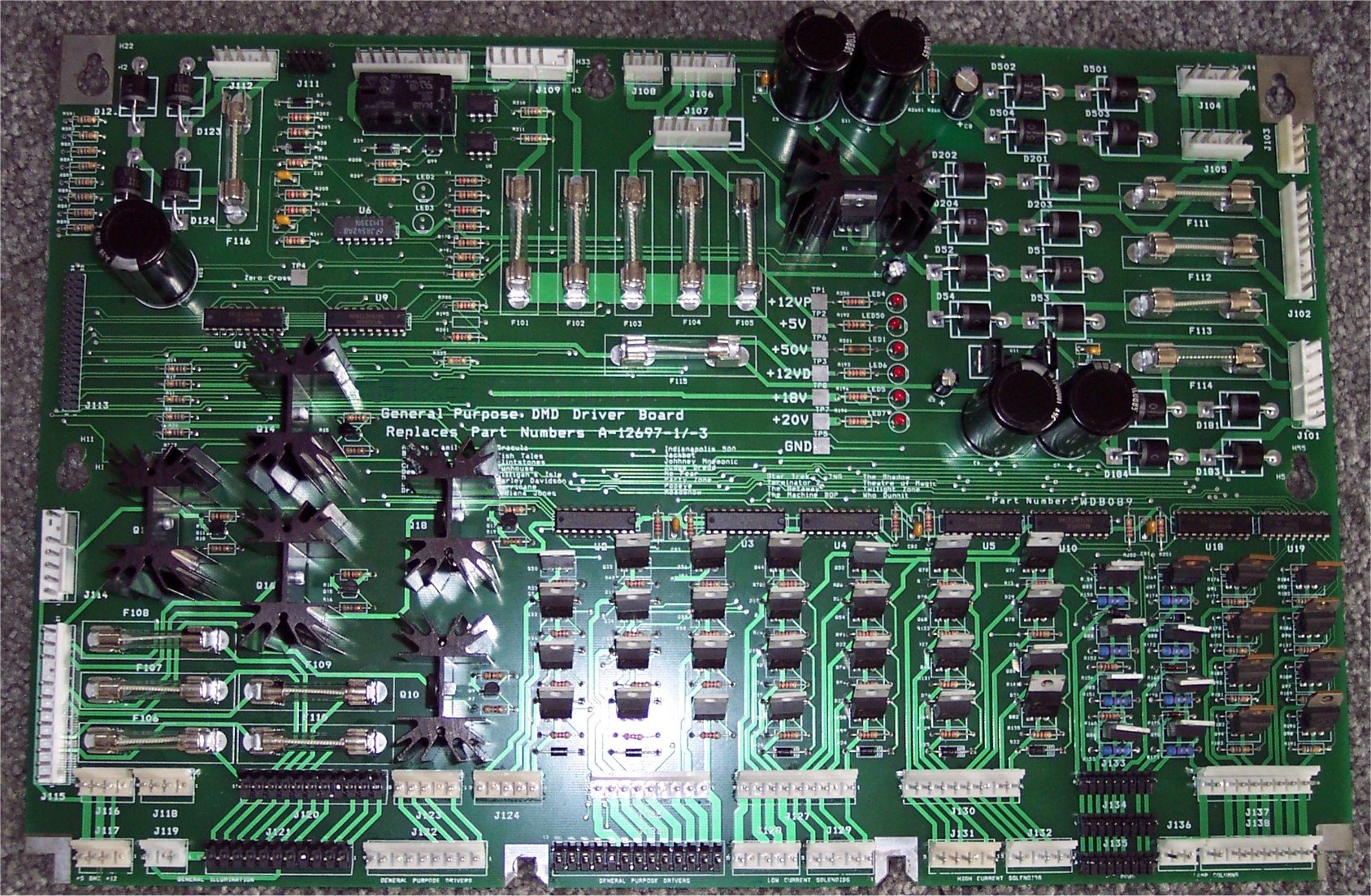 This Is A Close Up Of The Circuit Board From The Box Mag Note The The